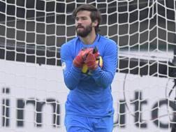 Alisson Becker, 25 anni, portiere Roma. Lapresse