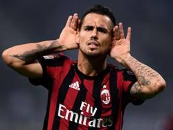 Suso, 24 anni, attaccante del Milan. Afp