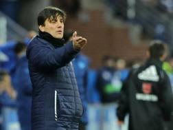 Vincenzo Montella, allenatore del Siviglia: aveva iniziato la stagione al Milan. Afp