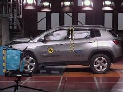Un crash test frontale