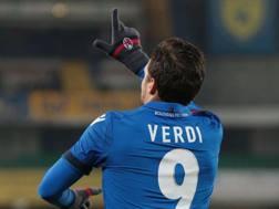Simone Verdi, 25 anni, attaccante del Bologna. Ansa