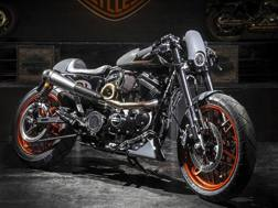 La Harley vincitrice del concorso 2017