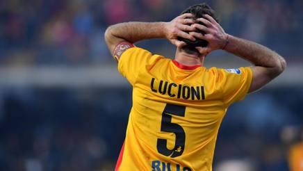 Fabio Lucioni, 30 anni, capitano del Benevento. LaPresse