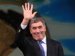 Eddy Merckx, campione simbolo del Belgio. BETTINI