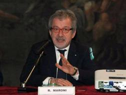 Roberto Maroni. Ansa
