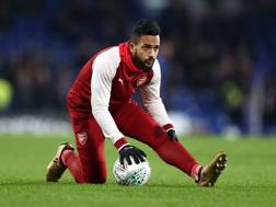 Theo Walcott, 28 anni. Getty Images
