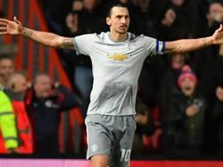 Zlatan Ibrahimovic (36 anni), seconda stagione al Manchester United. GETTY IMAGES