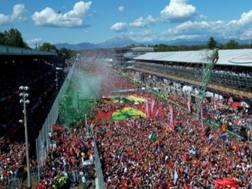 Il pubblico del GP d'Italia