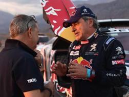 Carlos Sainz alla Dakar 2018. Afp