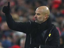 Josep Guardiola (47 anni), seconda stagione al Manchester City. AP