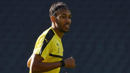 Pierre-Emerick Aubameyang, 28 anni, attaccante Borussia Dortmund. AFP