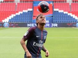 Neymar, 25 anni, attaccante Psg. Lapresse