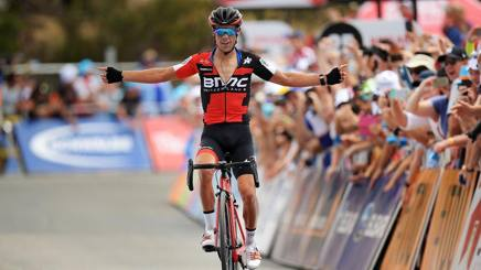 Richie Porte vince la quinta tappa al Down Under. Getty
