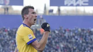 Mario Mandzukic, 31 anni, croato,31 gol con la Juve. Getty Images