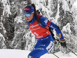 Dorothea Wierer . Afp