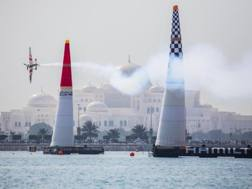 Una fase della Red Bull Air Race