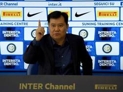 Il patron dell'Inter Zhang Jindong.