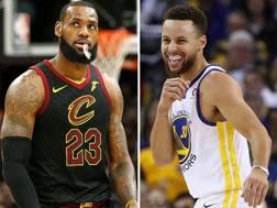 LeBron James e Steph Curry sono i due capitani dell'All Star Game.