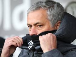 José Mourinho (55 anni domani), seconda stagione sulla panchina del Manchester United. GETTY IMAGES