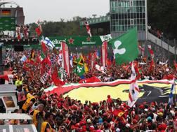 IL GP d'Italia a Monza sarà una delle 4 gare trasmesse in chiaro. Lapresse