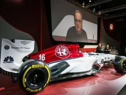 La nuova Sauber Alfa Romeo F1. Lapresse