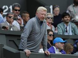 Boris Becker, 50 anni. Afp