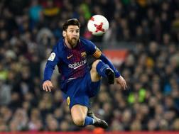 Leo Messi, 30 anni, ha vinto 5 volte il Pallone d'oro. Afp