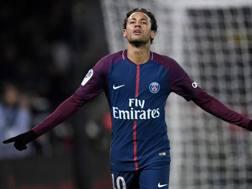 Neymar, 25 anni, attaccante del Psg. AFP