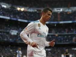 Cristiano Ronaldo, 32 anni, 18 gol in stagione con il Real Madrid. Ap