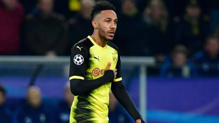 Pierre-Emerick Aubameyang, 28 anni, attaccante del Borussia Dortmund