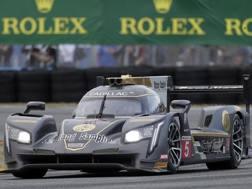 La Cadillac di Filipe Albuquerque ha vinto la 24 Ore di Daytona. Ap