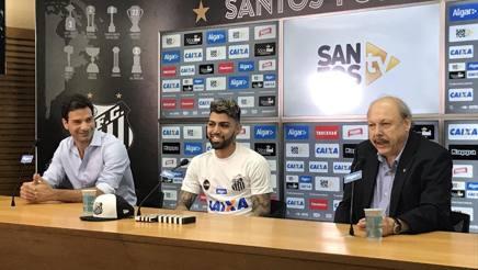 Gabigol 21 anni, ex attaccante dell'Inter, è stato presentato ufficialmente dal Santos. Twitter