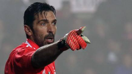 Gigi Buffon, 40 anni domenica scorsa. Lapresse