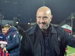 Walter Zenga, 57 anni, allenatore del Crotone. LaPresse