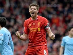 Steven Gerrard, 37 anni. Epa