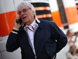 Bernie Ecclestone, ex patron della Formula 1. Lapresse