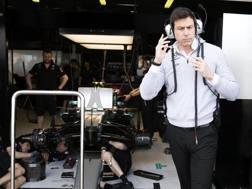 Toto Wolff, team principal Mercedes. Epa