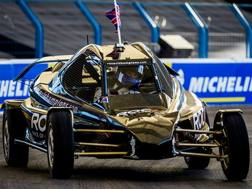 Coulthard in azione alla Race of Champions. www.raceofchampions.com