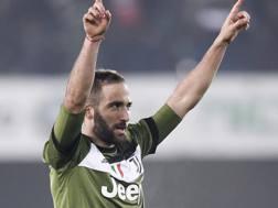 Gonzalo Gerardo Higuaín (30 anni), seconda stagione alla Juventus. GETTY IMAGES