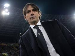 Simone Inzaghi, 41 anni, allenatore della Lazio. Lapresse