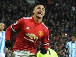 Alexis Sanchez, 29 anni, attaccante del Manchester United. Epa
