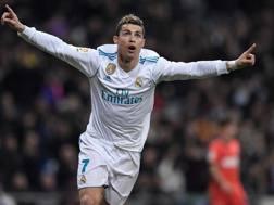 Cristiano Ronaldo, 33 anni. AFP