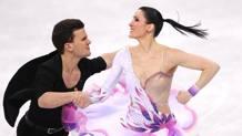 Marco Fabbri e Charlene Guignard. Getty