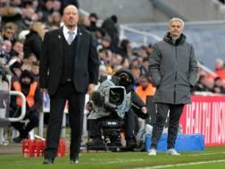 Josè Mourinho e Rafa Benitez. Getty