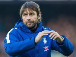 Antonio Conte, 48 anni, allena il Chelsea dal 2016. Epa