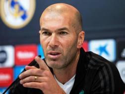 Zinedine Zidane, 45 anni. Epa
