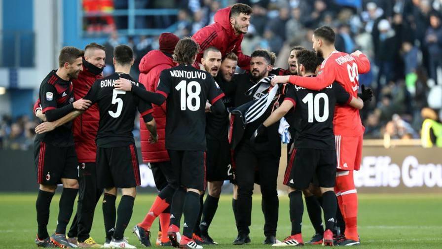 """Gattuso """"povero"""" ma felice Il suo lavoro migliora il Milan"""