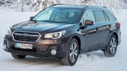 Il nuovo Subaru Outback al top su neve e ghiaccio