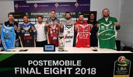 I capitano delle 8 squadre qualificate alle Final Eight