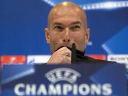 Zinedine Zidane, due Champions vinte sulla panchina del Real Madrid. Ap